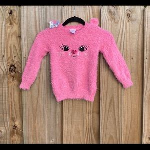 Youngland Fuzzy Pink Sweater 4